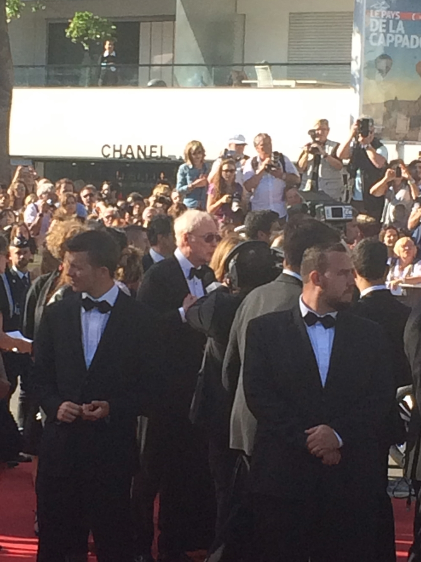 Cannes Michael Caine