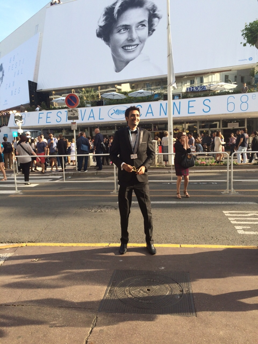 Sudhish at Cannes